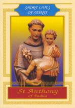 SAINT ANTHONY OF PADUA<br>Short Lives of the Saints<br>(Please choose Sales Catalog for Shipping Charge)