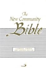 THE NEW COMMUNITY BIBLE (Deluxe White)