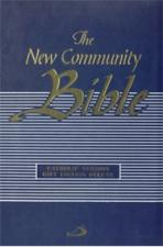 THE NEW COMMUNITY BIBLE (Deluxe Blue Zip)