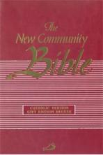 THE NEW COMMUNITY BIBLE (Deluxe Red)